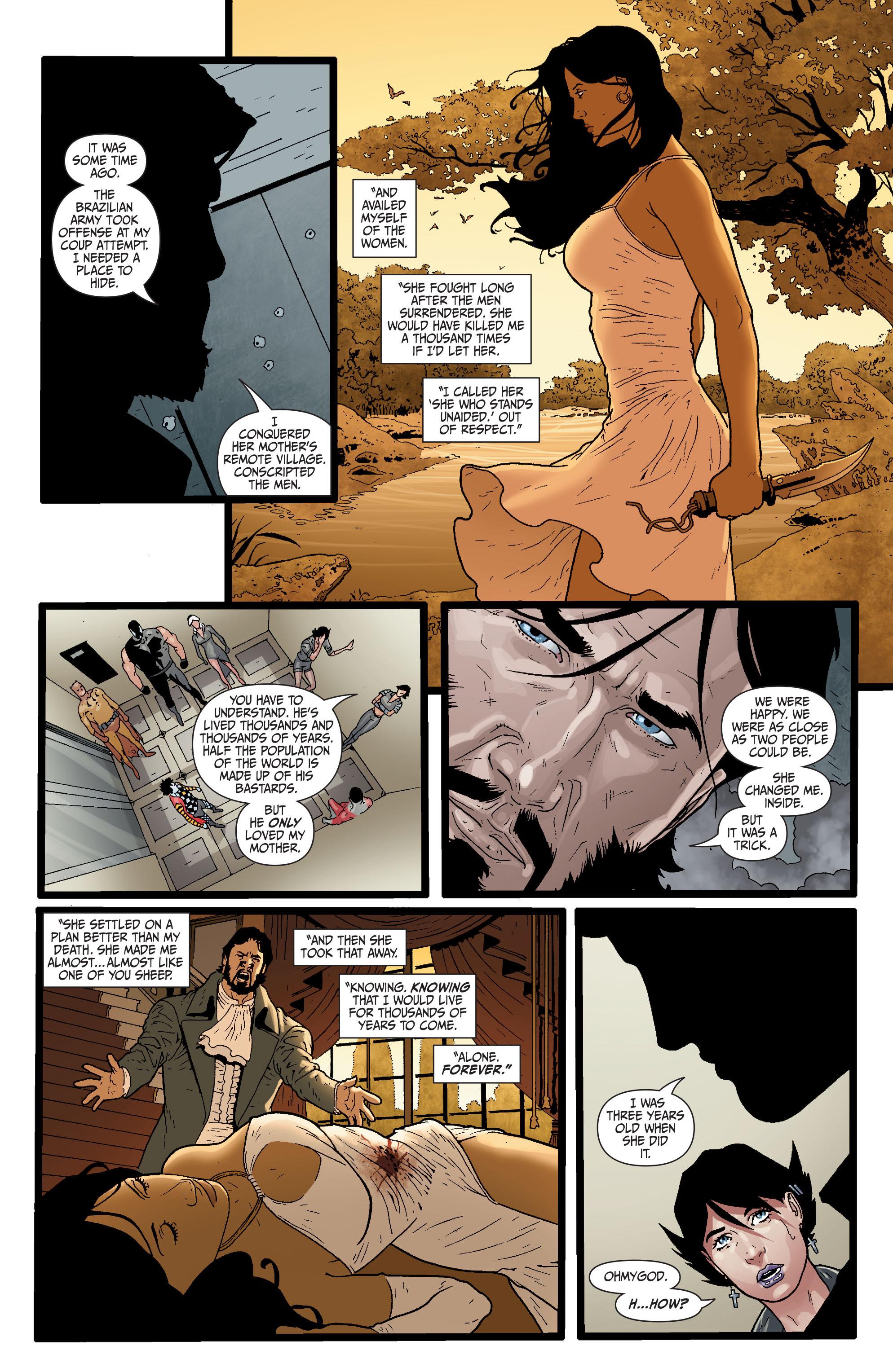 Read online Secret Six (2008) comic -  Issue #29 - 20