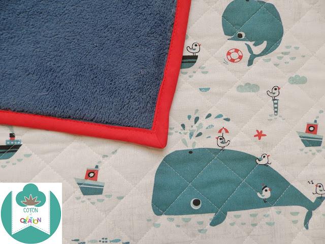 Coton et Création : couverture enfant