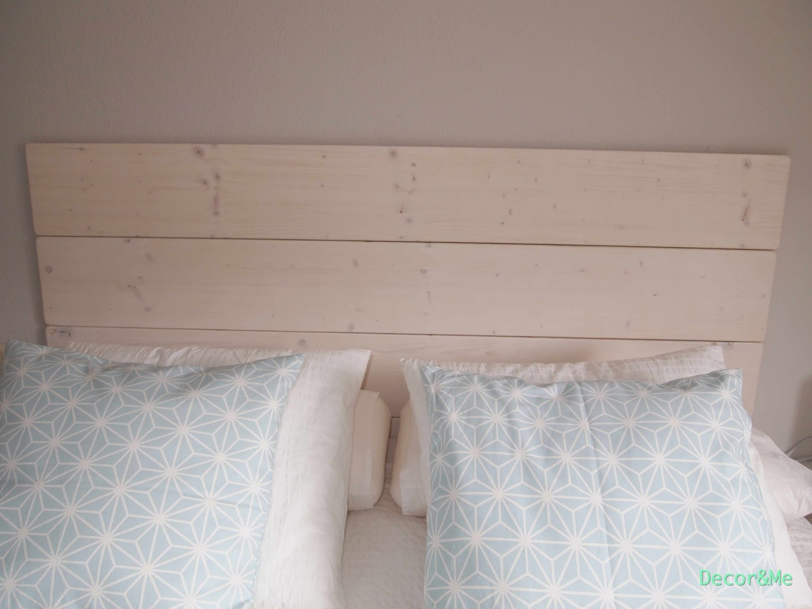 Decorme Mi Dormitorio Diy El Cabecero Con Tablones De Madera De