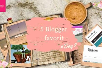 Inilah 5 Blogger Perempuan favorit Beserta Alasannya | Day 9