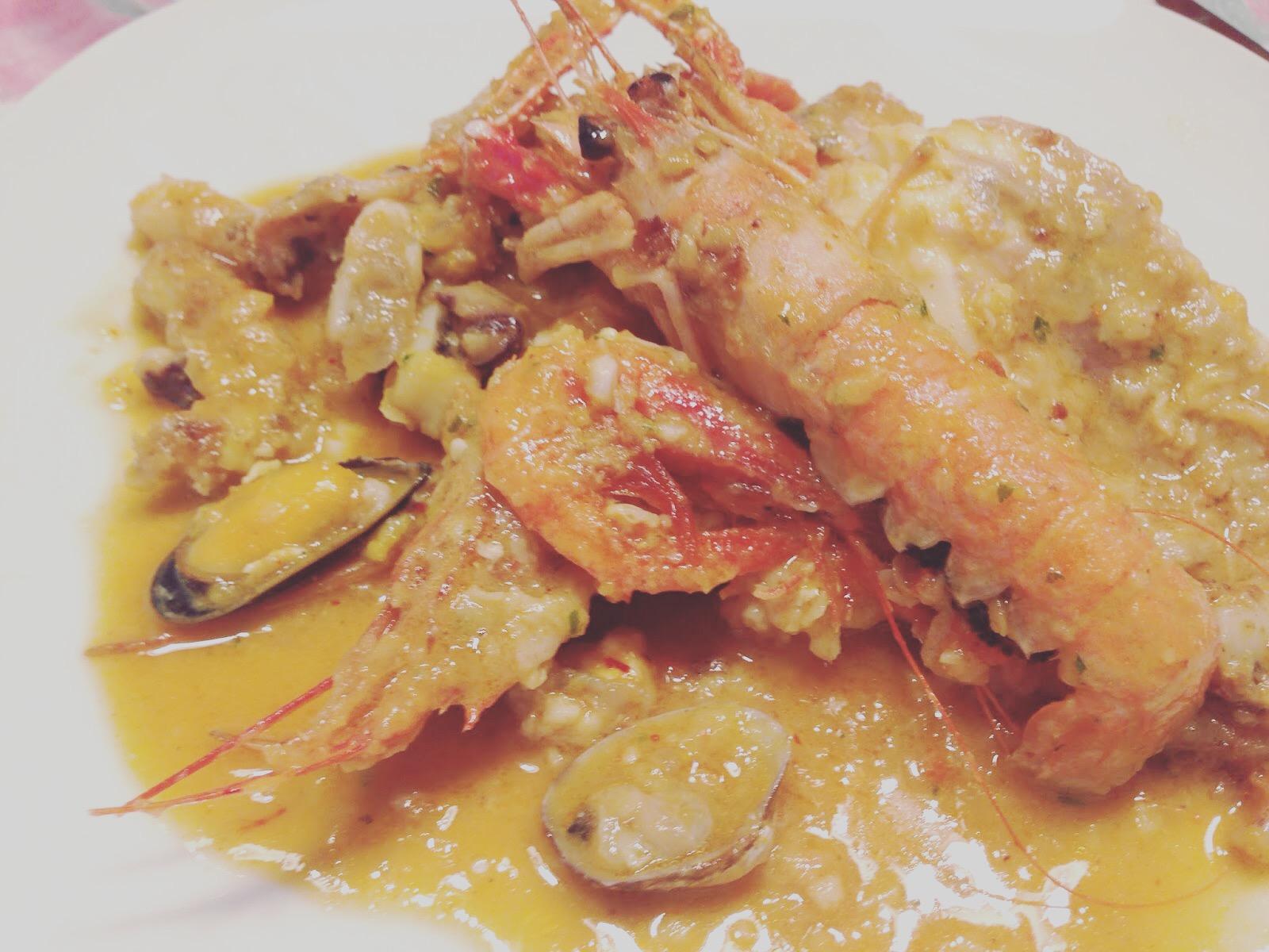 Menjar A Cala Blanca Sarsuela De Pescado Y Marisco Asaltablogs