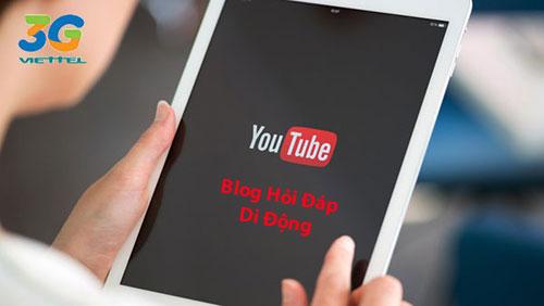 Vậy gói Youtube Viettel mới có gì và đăng ký như thế nào ?