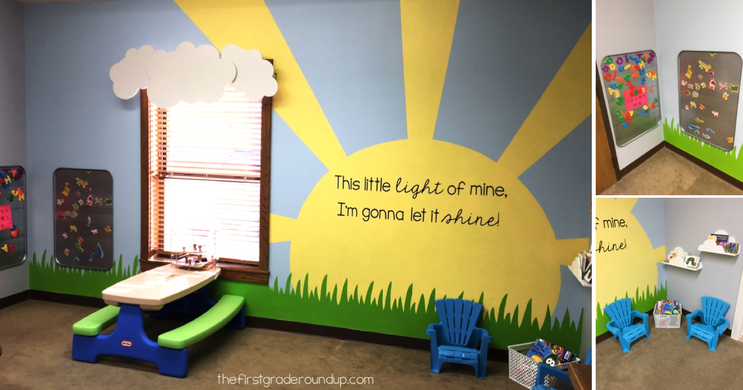 Church Nursery Remodel Firstgraderoundup