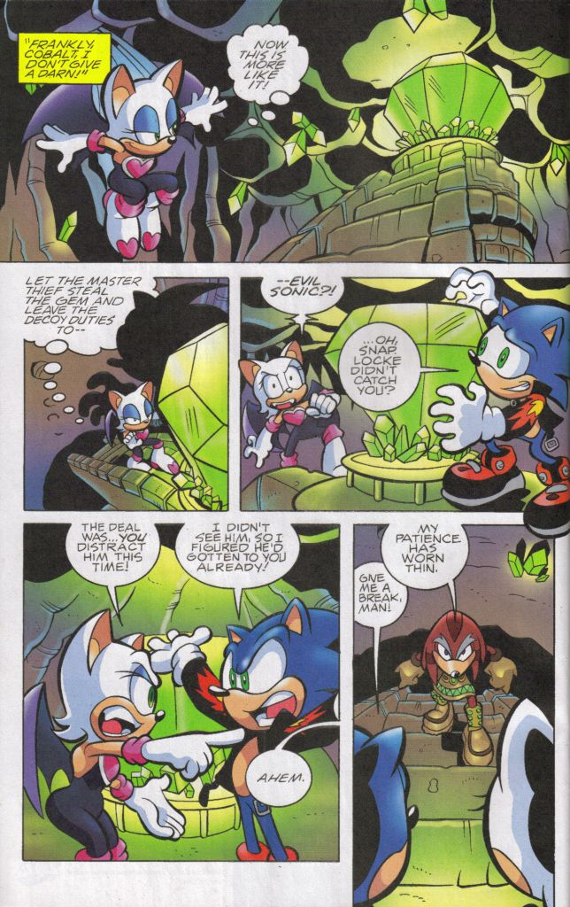 Read online Sonic The Hedgehog comic -  Issue #160 - 8
