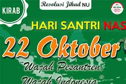 Banner Spanduk Kirab Santri