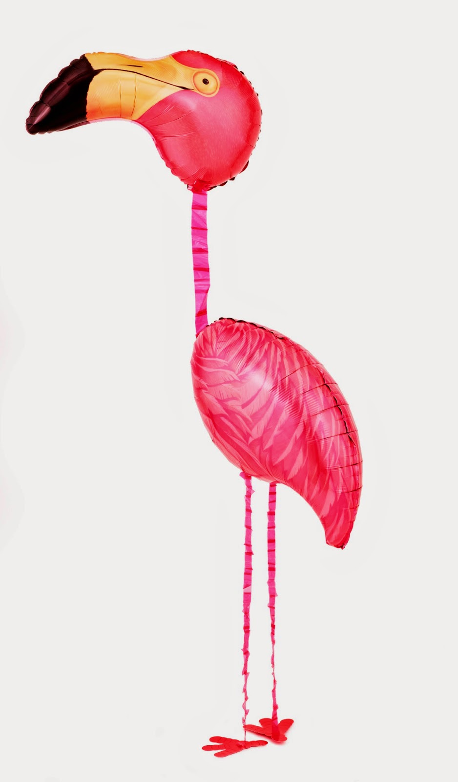 Шарик ходячая фигура Фламинго