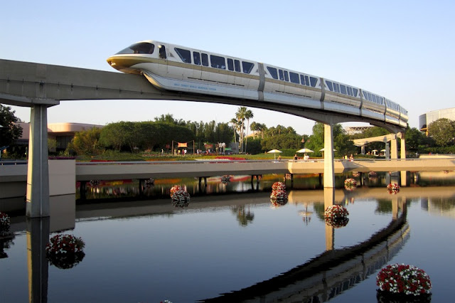 Futuristic Railway