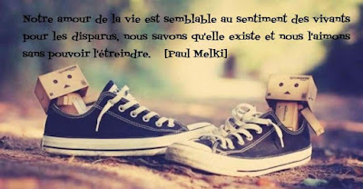 Citation de Paul Melki sur l'amour et les sentiments