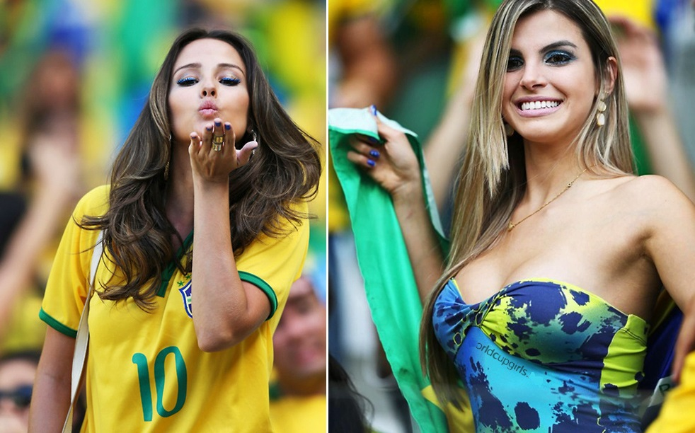 women fans World cup hot