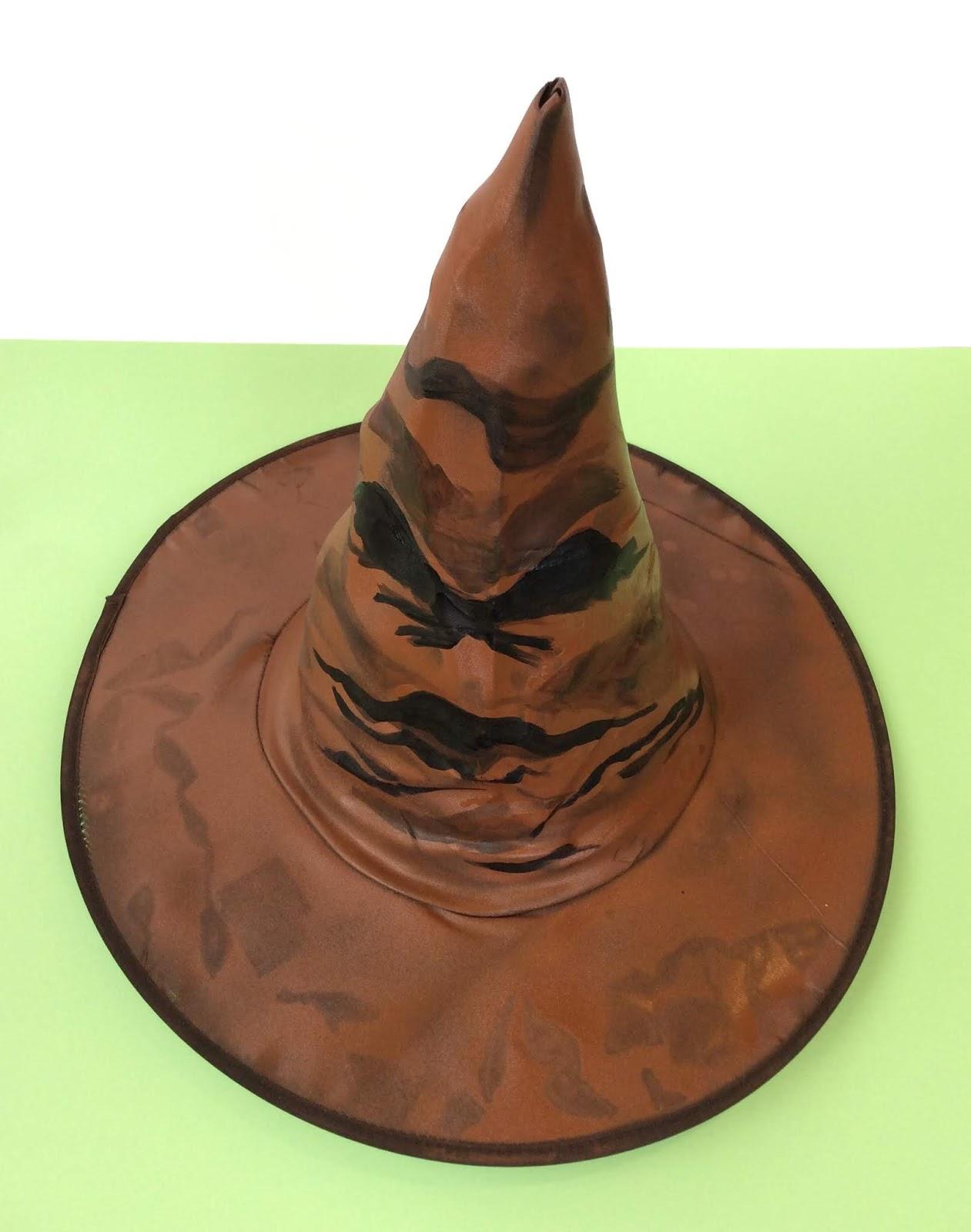 Cómo hacer el sombrero seleccionador de Harry Potter fácilmente ... 5d85b310894