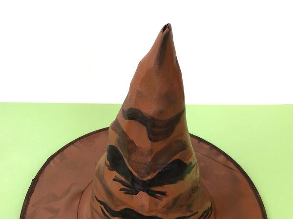 Cómo hacer el sombrero seleccionador de Harry Potter fácilmente