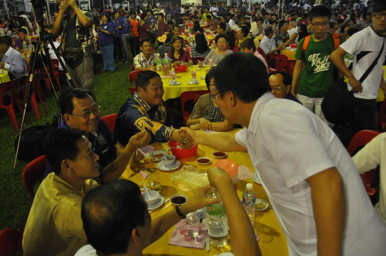 謝國華──真心從政: 13.10.12 MCA Mega dinner themed Stability Above Chaos