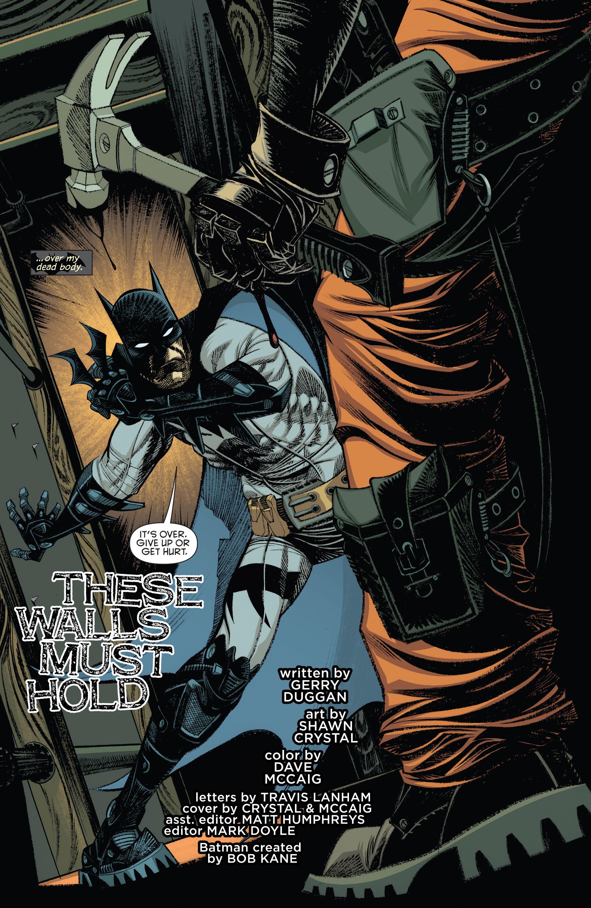 Read online Arkham Manor comic -  Issue #5 - 5