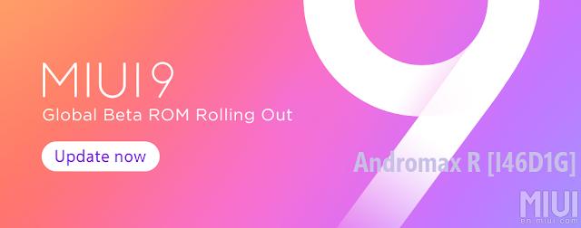 MIUI 9 Beta 7.9.7 Andromax R
