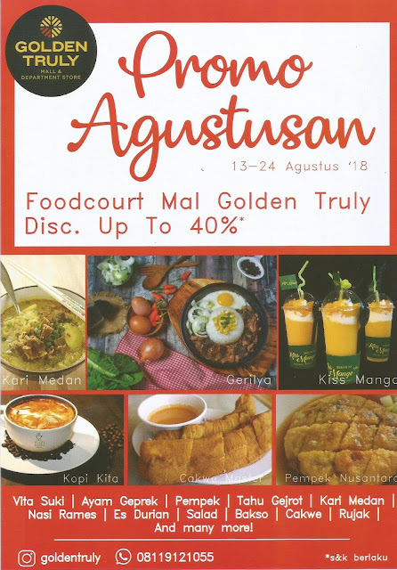 Golden Truly Agustus