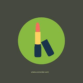 Lipstick flat icon