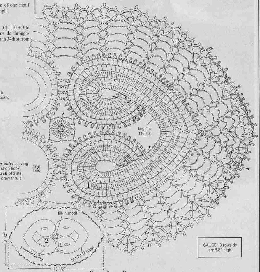 ergahandmade: Crochet Hearts + Diagrams