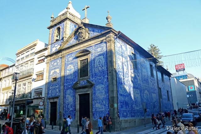 Capilla de las Almas, Rua Santa Catarina, Oporto