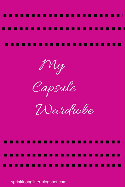 Sprinkle On Glitter Blog// My Capsule Wardrobe// graphic