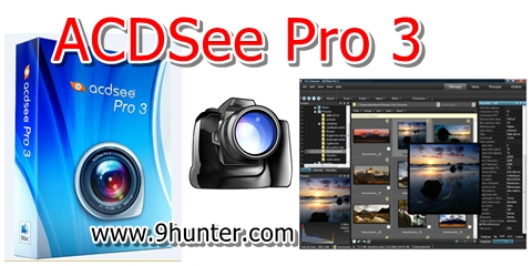 ACDSee Pro 3 Full Serial Number โปรแกรมตกแต่งรูปภาพโหลดฟรี