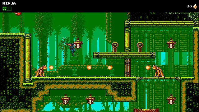 The Messenger - Bamboo forest 8-bit