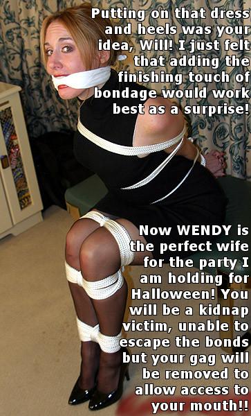Bond bondage gag victim share