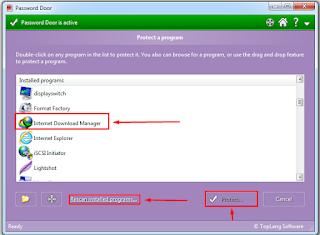 Cara Password Data dan Aplikasi di PC ALL Windows
