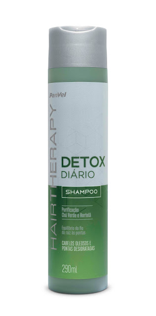 Detox para cabelos