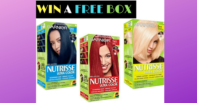 Win a free box of hair color
