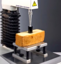 AIB Firmness test on cake sample