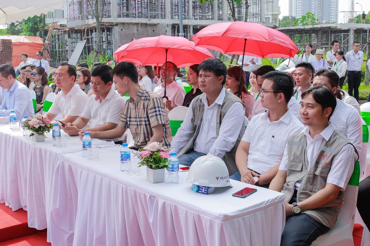 Đại diện của đơn vị thi công Vilaiviet tham gia sự kiện