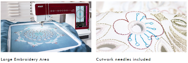 Large Embroidery Area & Cutwork Needles