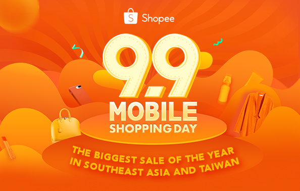 Shopee 9.9 Mobile Shopping Day Record Breaking Sale