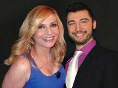 Marcello Crescenti con Lorella Cuccarini