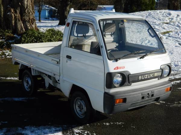 1990 Suzuki 4x4 Utility Truck
