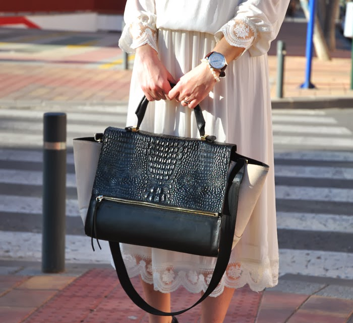 Zara Dress StreetStyle