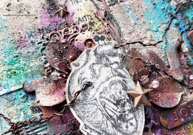 @nastyalena #mixedmedia #canvas