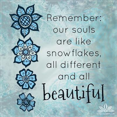 snowflake+souls+each+unique+quote - Quotes To Calm The Soul