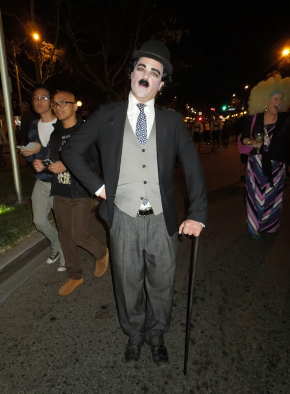 West Hollywood Carnaval Charlie Chaplin costume