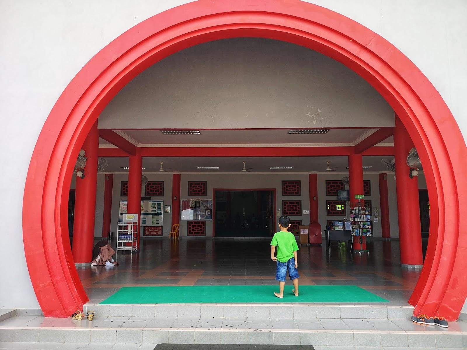 Rekabentuk binaaan Masjid Cina Krubong, Melaka 2