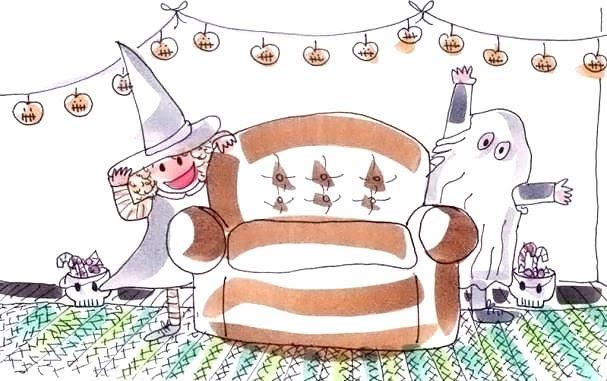 Tina y Leo hacen una fiesta de Halloween