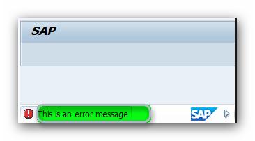 sap dogrulama işlemleri iptal mesajı