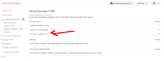 penyempurnaan html pada webmaster