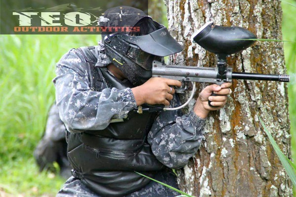 Outbound Malang Program Paintball