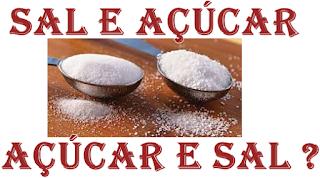 sal e açúcar para afastar casal