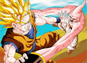 Dragon Ball Z Goku vs Buu Puzzle