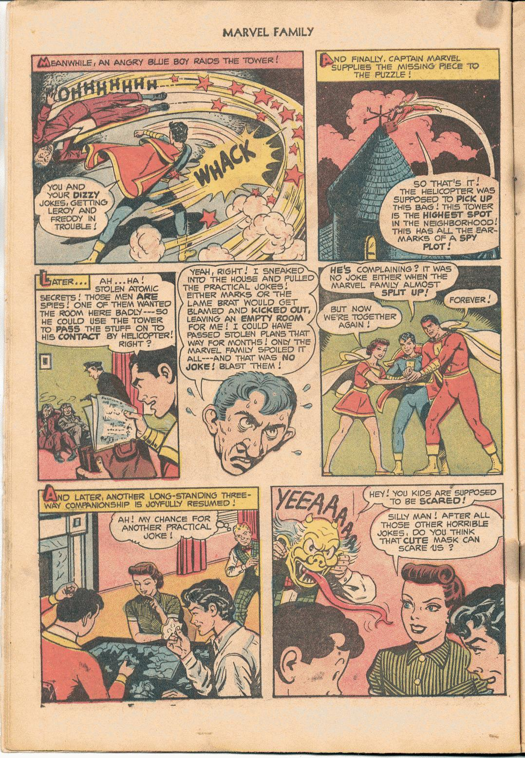 The Marvel Family issue 88 - Page 10
