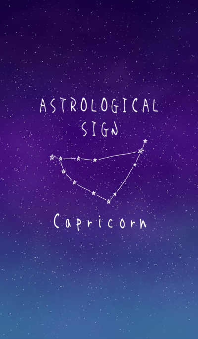 ASTROLOGICAL SIGN(Capricorn)