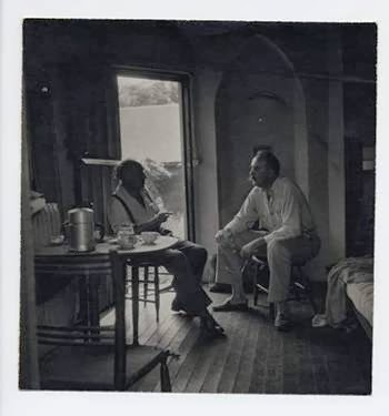 Edward Dahlberg & Charles Olson. Conn. U's Charles Olson Research Collection.