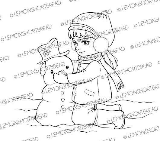WINTER AND CHRISTMAS DIGI STAMPS